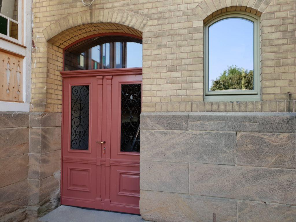 Alle Fenster und Türen der Villa Bianca in Dingelstedt am Huy wurden erneuert